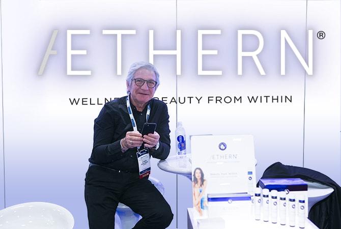 Abili Falcó i Buixeda, AETHERN® CEO / Founder @ 2018 American Academy Of Anti-Aging Medicine (A4M)