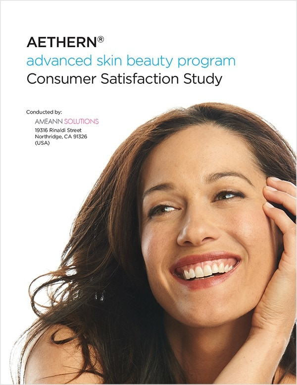 AETHERN® Advanced Skin Beauty Program | Consumer Satisfaction Study