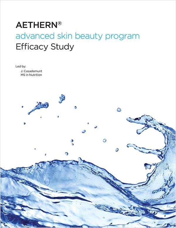 AETHERN® Advanced Skin Beauty Program | Efficacy Study