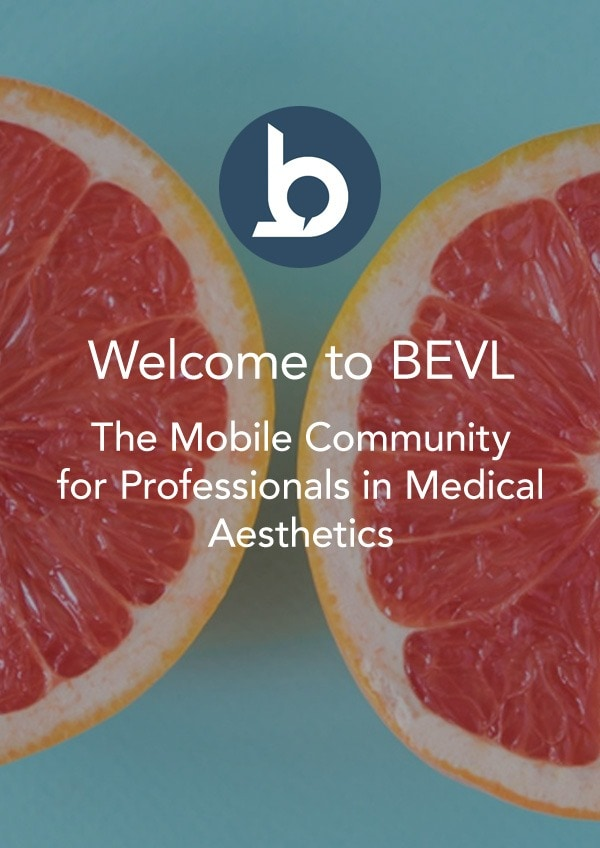BEVL – The Mobile Community for Professionals in Medical Aesthetics