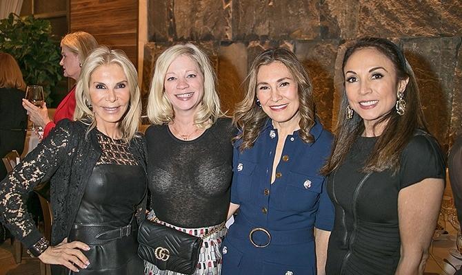Galentine's Day 2018 - Andrea Wernick, Jennifer Myles, Maria Fishel and Maria Elena Christiansen