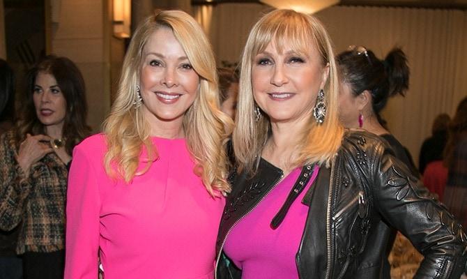 Galentine's Day 2018 - Debra Wasser and Katlean de Monchy