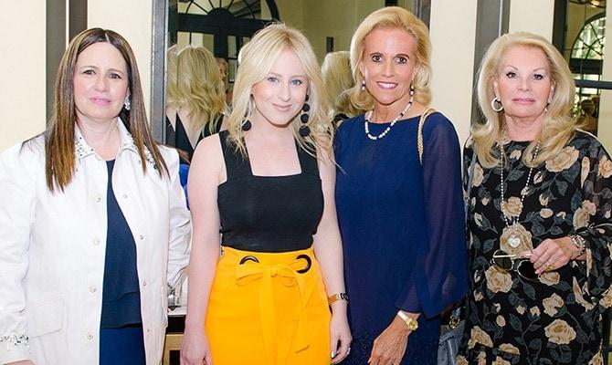 Tony Palm Beach - Amy Kamin, Sydney Sadick, Carol Anderson and Carole Seligson