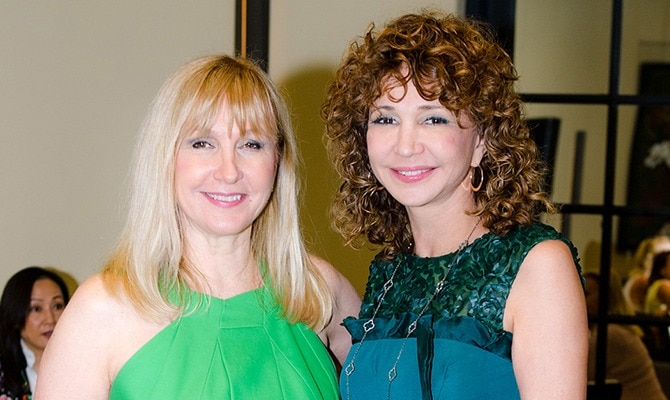 Tony Palm Beach - Katlean de Monchy and Dr. Daniela Dadurian